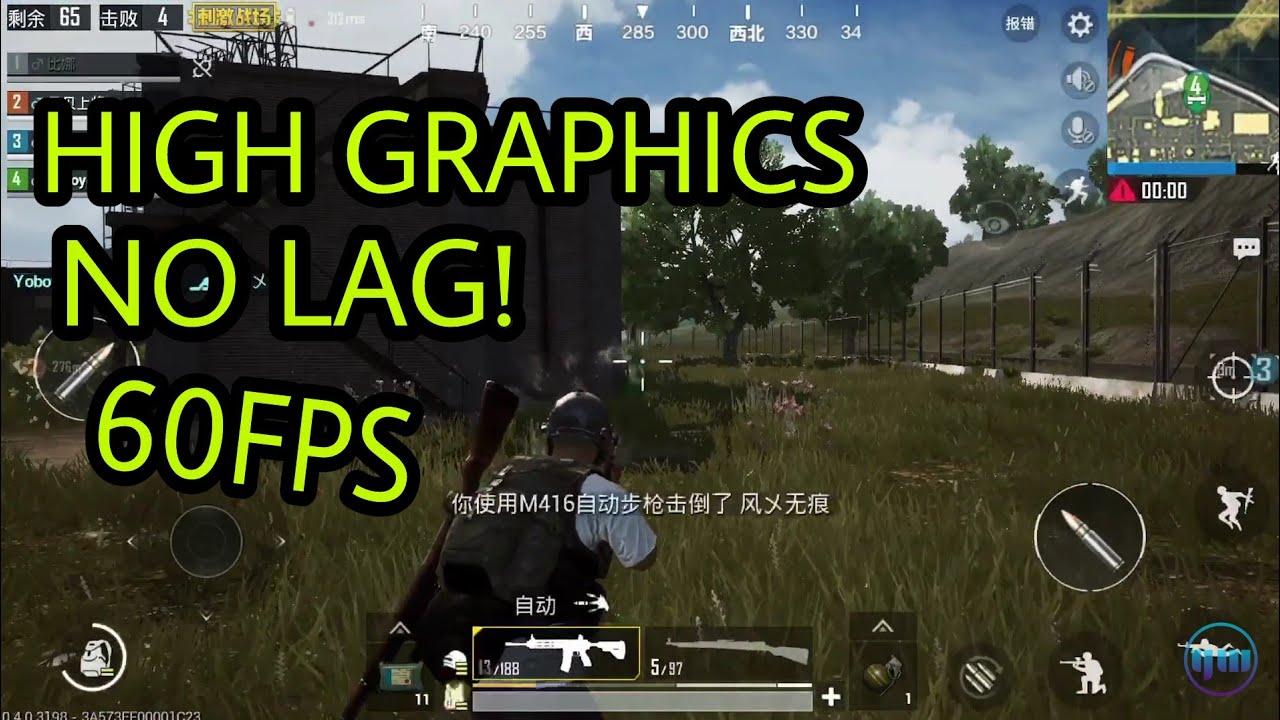 Pubg Hd No Lag: High Graphics With No Lag Pubg Mobile Best Custom Graphics