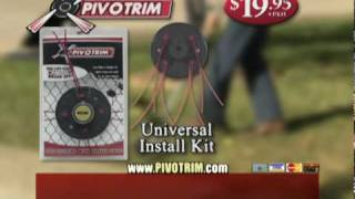 PivoTrim Trimmer Head - As Seen on TV Infomercial