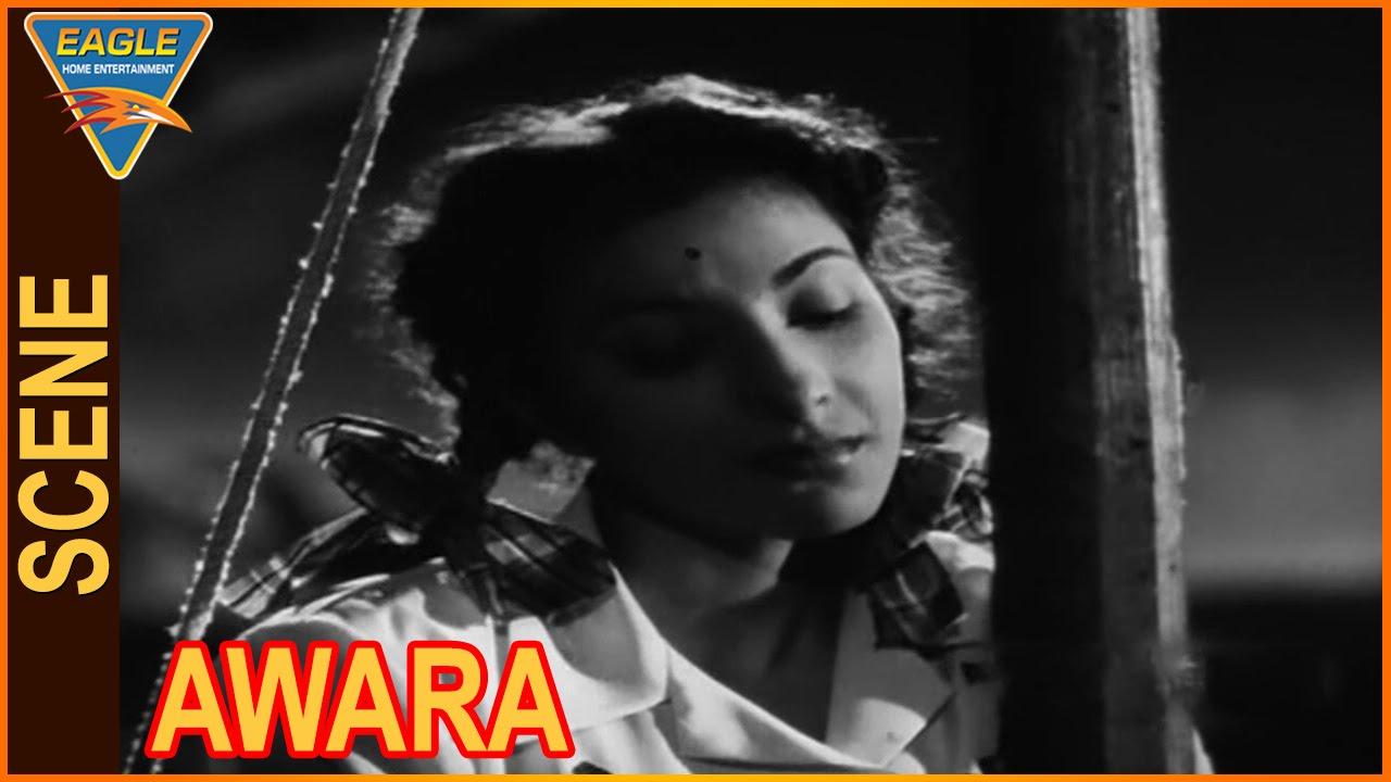 awara hindi movie nargis propose to raj kapoor love