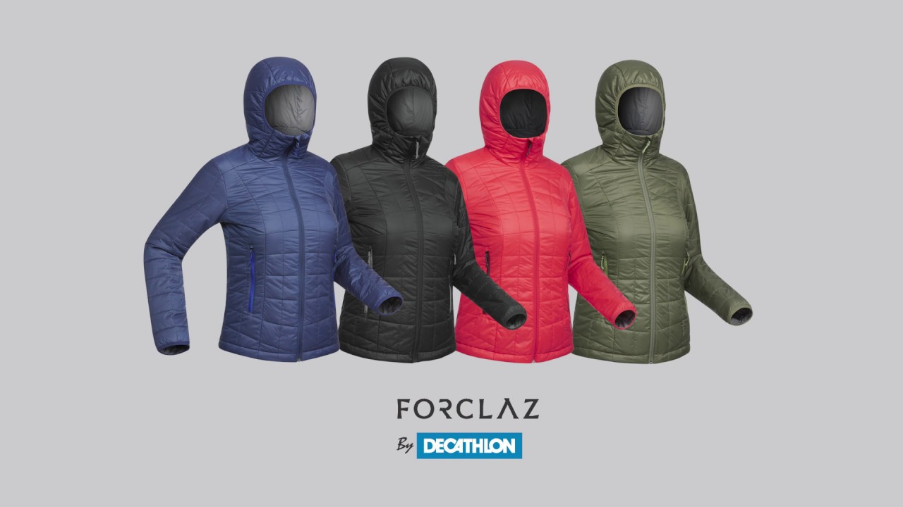 1192e3f53 Backpacking Insulated Jacket Trek 100 - Forclaz by Decathlon