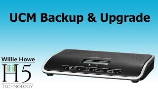 Grandstream UCM Backup & Upgrade