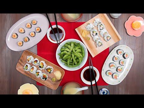 Nina Jackson - Recipe: Homemade Sushi Dinner for 2