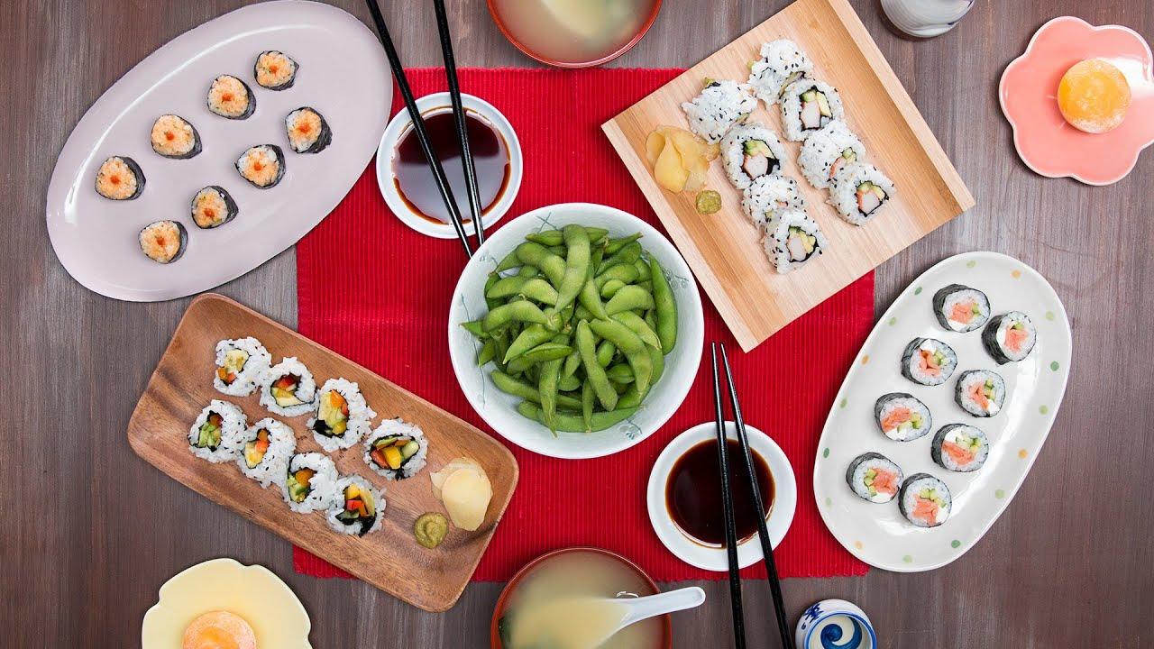 maxresdefault - Homemade Sushi Dinner for 2