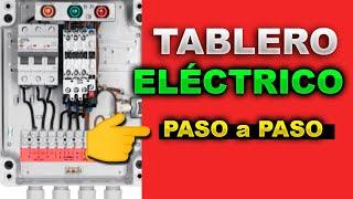 """TABLERO ELÉCTRICO, montaje y cableado - """"PASO A PASO"""""""