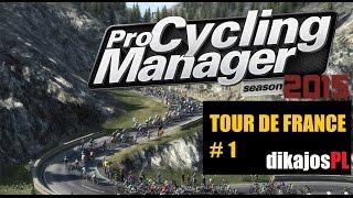 Tour de France - #1 i 2 Przedstawienie drużyny i pierwszy etap - dikajosPL