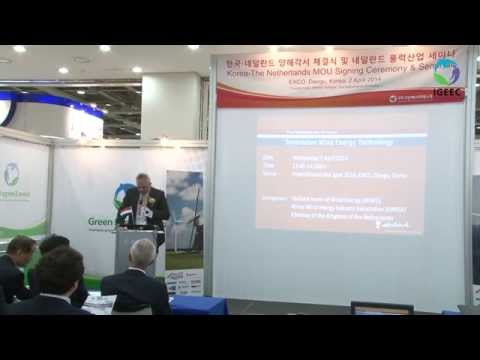 [IGEEC 2014 Video] Seminar on the Netherlands Wind Energy Industry Opening & Welcome Speech