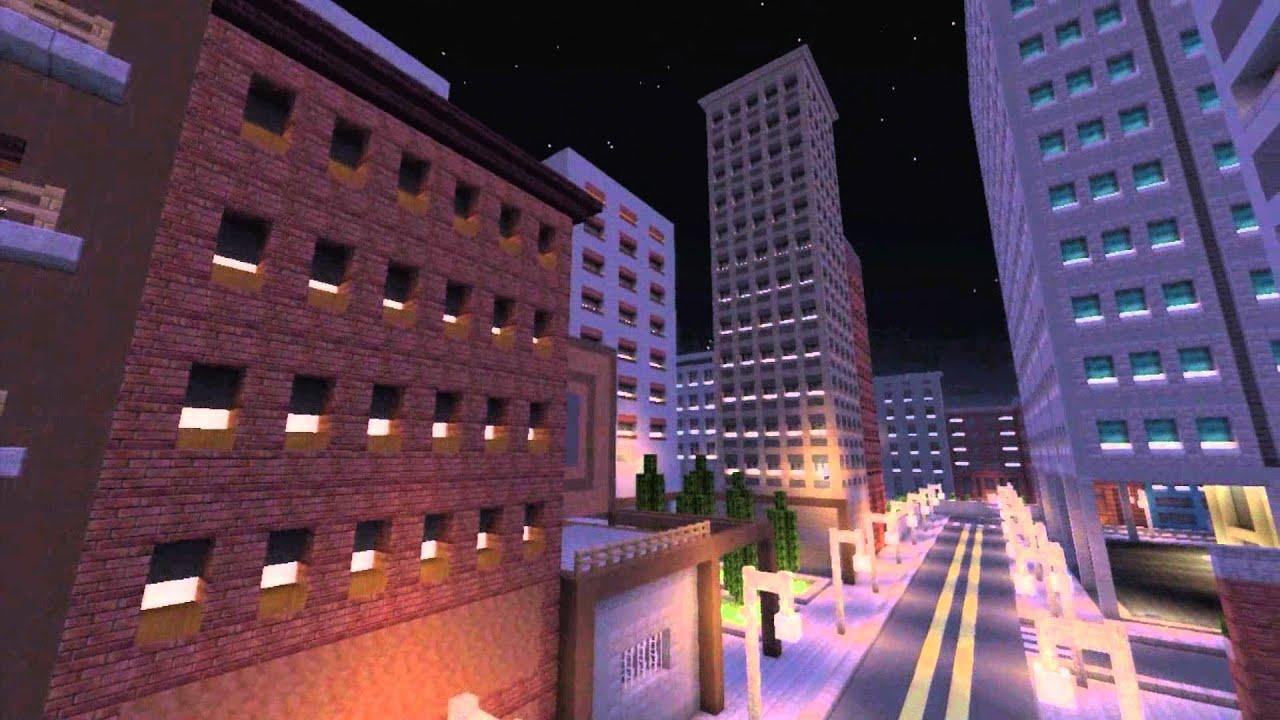 Maxresdefault Ps Minecraft Adventure Maps Commute Map Santa Monica - Minecraft spielen ps4