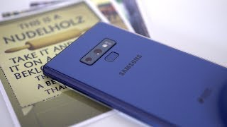 Test: Samsung Galaxy Note 9 - mein Fazit nach 6 Wochen | deutsch