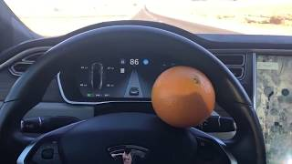 Hacking Tesla Autopilot | ORANGE TRICK (Deleted Video)