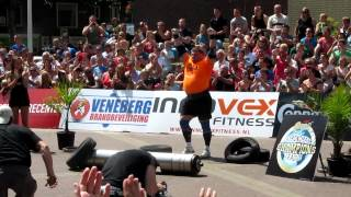 Zydrunas Savickas Log Lift 217.5kg - World record