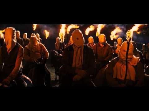 Kapuzen-Szene aus Django Unchained