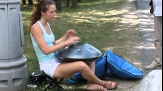 Ханг удивительный музыкальный инструмент,чудесная музыка