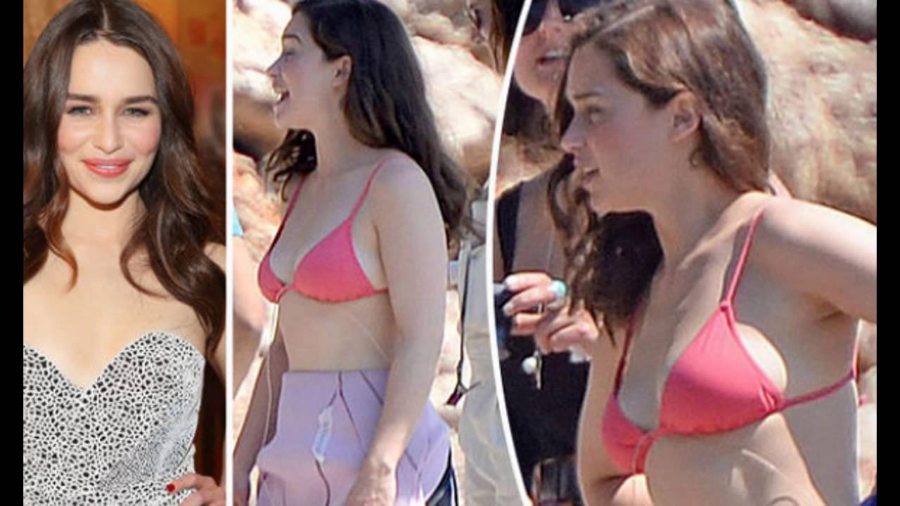 Emilia Clarke Shows Off Her Belly Button And Stomach Youtube