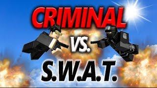 SUÇLU VS SWAT - ROBLOX Gerçek Hayat