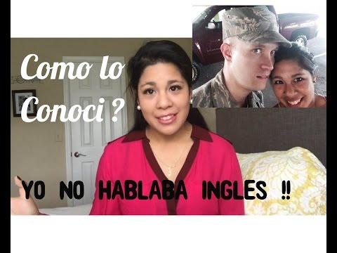 Como Conocí A Mi Esposo Estadounidense | Norteamericano ? No Hablaba Inglés !
