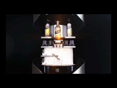 Porsche Design Private Bar for Johnnie Walker