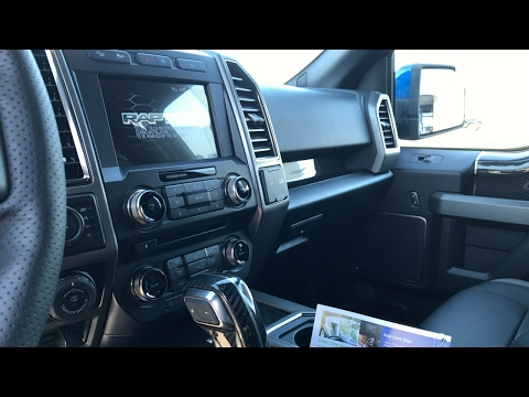 2017 Ford F-150 Raptor Interior Review by Alex Buker at Andy Mohr Ford Plainfield Indiana IN