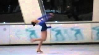 女子青年精英組花樣滑冰短節目 - 劉容若 20131003