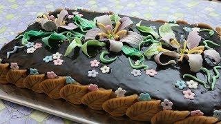 Рецепт глазури из какао для торта