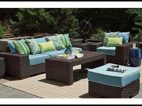 Turquoise Patio Furniture - YouTube