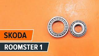 Cum să schimbați Set rulment roata ROOMSTER (5J) - pas cu pas tutorial video