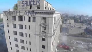 Onlarca Yıllık Otelin Patlayıcılarla Yıkılışı