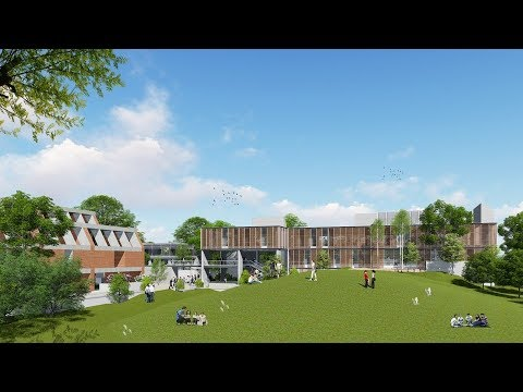presentation on proposed academic building on cept campus by