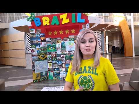 International Week at College of The Rockies 2015 - Brazil