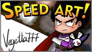 Vegetta777 (Youtuber) | SPEED ART