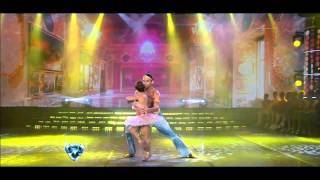 Showmatch 2012 - Hernán Piquín y Noelia Pompa brillaron en el baile clásico