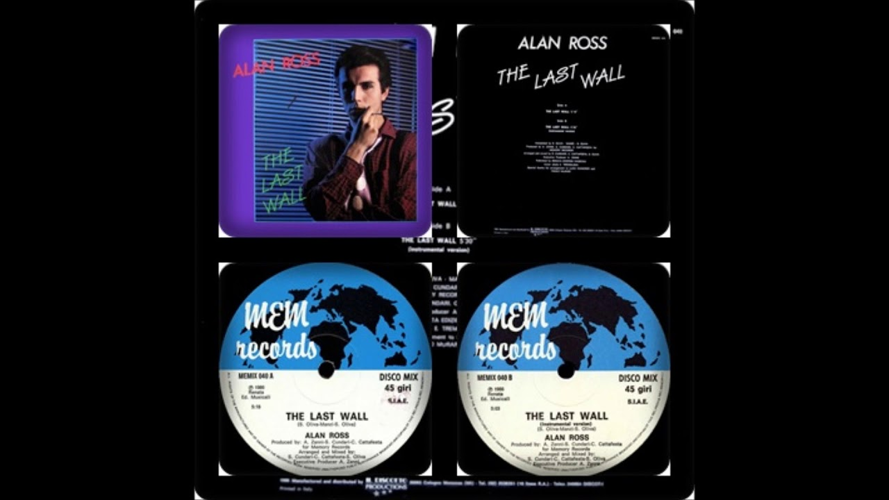 ALAN ROSS - THE LAST WALL (VOCAL, INTRUMENTAL 1986) #1