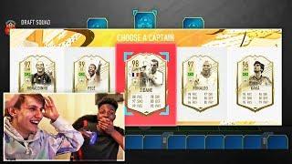 FULL *NEW ICONS* 190 FUT DRAFT vs SV2! (FIFA 20)
