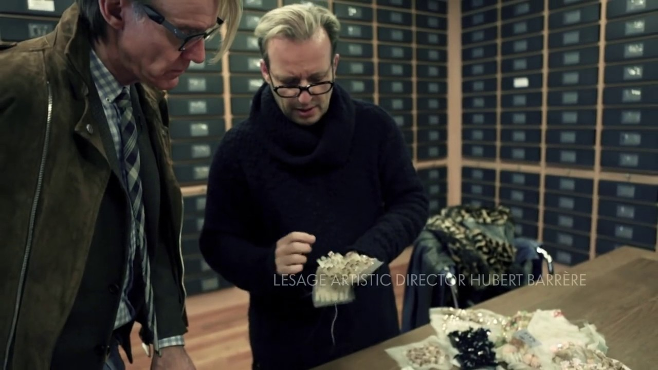 Inside The Lesage Embroidery House Neiman Marcus Youtube