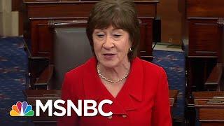 Joy Reid Pens An Open Letter To Sen. Susan Collins On Trump | AM Joy | MSNBC