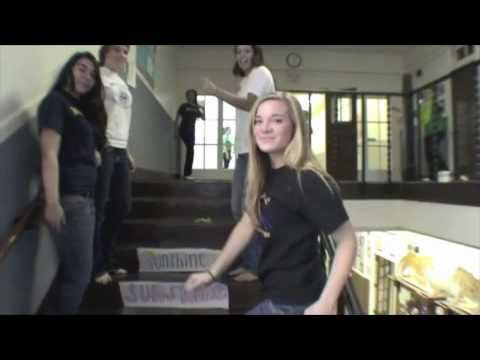Notre Dame High School, Belmont - Lip Dub Project