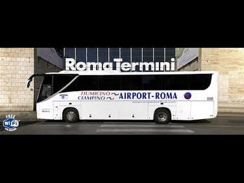 COMO CHEGAR AO CENTRO DE ROMA A PARTIR DO AEROPORTO LEONARDO DA VINCI- FIUMICINO