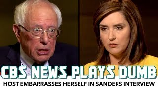 CBS Host Embarrasses Herself In Bernie Sanders Interview