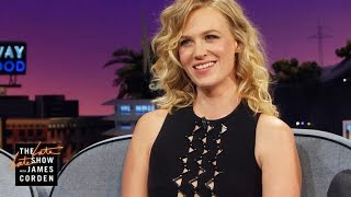 January Jones Would Be In a Throuple w/ Ryan Gosling & Eva Mendes