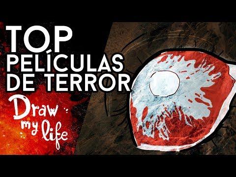 TOP 5 pelis de TERROR de los últimos años - Draw My Life en Español