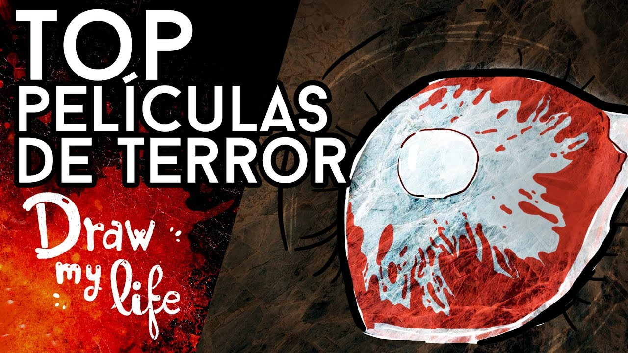 TOP 5 pelis de TERROR de los últimos años - Draw My Life