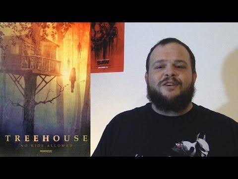 Treehouse (2014) movie review horror mystery thriller Rant
