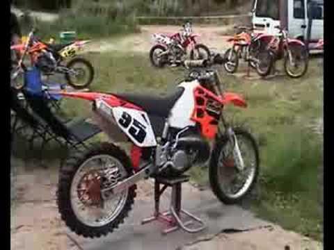 motocross 500cc 2 temps
