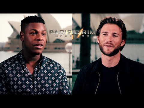 John Boyega & Scott Eastwood Team Up For 'Pacific Rim Uprising'  Studio 10