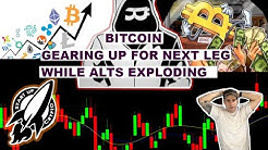 BITCOIN GEARING UP FOR NEXT LEG- LET ME SHOW YOU SOME ADVANCED TA THAT WILL CHANGE YOUR LIFE!