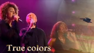 True Colors Phil Collins Live Performance (2004) With Lyrics