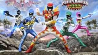 Power Rangers Dino SuperCharge Full Theme(Instrumental)