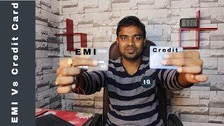 Credit Card Vs Bajaj EMI Card - No Cost EMI - Similarities & Difference of EMI Card vs Credit Card