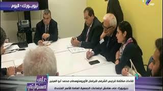 شاهد ما قام به محمد أبو العينين رئيس البرلمان الاورومتوسطي في اجتماعات الجمعية العامة للأمم المتحدة