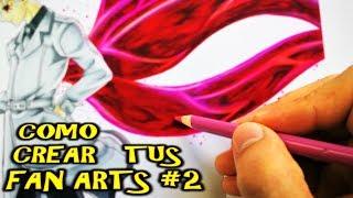 Como Hacer Tus Propios FANARTS #2 | Como Dibujar a KANEKI /HAISE SASAKI Tokyo Ghoul RE | DibujAme Un