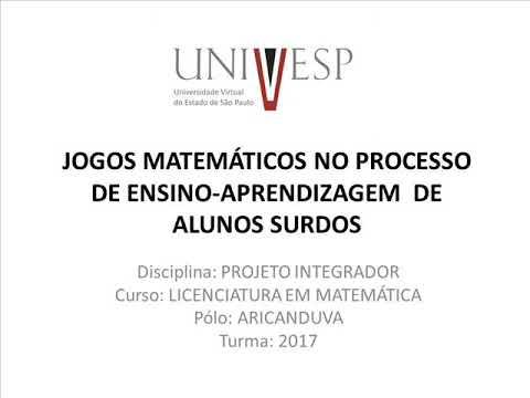 Видео O ensino de matemática para alunos surdos